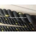 Nylon couvert Crossfit Gym Training Power Cordes de combat