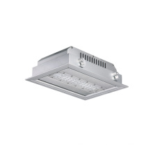 7 years warranty 40w recessed led canopy lights for gas station with IP66
