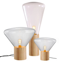 Lampe de table contemporaine blanche
