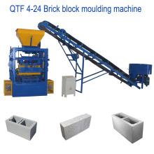 QT4-24 mejor venta de moldeo por vibración moldeado sólido ladrillo máquina de moldeo