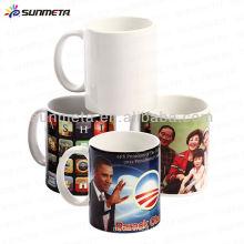 Gute Qualität billig Preis 11oz weiß leere Sublimation leere beschichtete Tassen