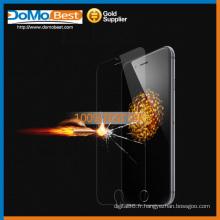 Double côté, approvisionnement d'usine & échantillon gratuit 9H verre trempé la gamme Protection Ecran pour Apple iPhone 6