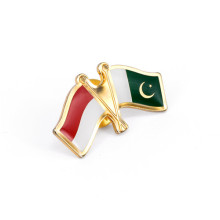 National Flag Lapel Pin, Metal Badges (GZHY-LP-024)