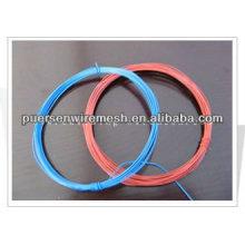 Farbe PVC beschichtete Eisen Bindung Draht