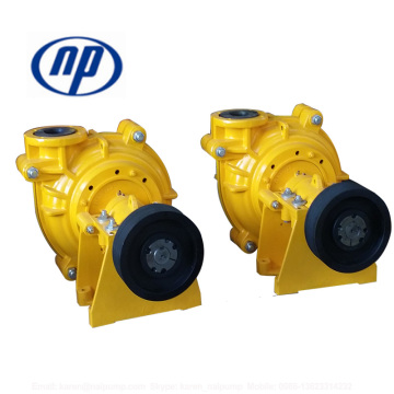 CRZ drive slurry pump for cyclone feed
