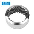 Kundenspezifische CNC-Bearbeitung von Edelstahl-Metallteilen / CNC-Bearbeitungsfabrik