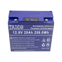 Lithium ion 12v lifepo4 deep cycle 20ah battery pack (Lead-acid battery replacement)