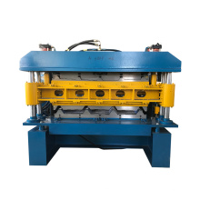 Double Layer IBR panel rib and ag panel Steel shingles metal Roofing Sheet Roll Forming Machine