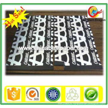 Hot Selling Coated 150g Black Gift Wrapping Paper