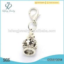 L'alliage en alliage en alliage d'allure significatif allonge les charmes, le pendentif bon marché en gros pour le locket de charme flottant