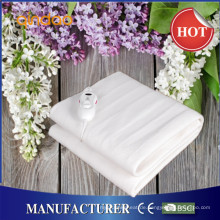 100% Breathable Polyester Super Soft Electric Heizung Decke