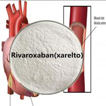 Xarelto Rivaroxaban-Pulver CAS 366789-02-8 pharmazeutische Rohstoffe Antithrombose