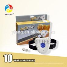 Collier ultrasonique de produits d'animal familier de contrôleur d'écorce E-15