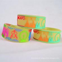 cinta de pulso personalizado do pvc esd