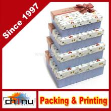 Caixa decorativa aninhada (12D3)