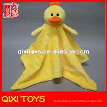 yangzhou mantas de animales pato cabeza felpa mantas de bebé