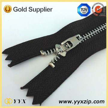 Dentadura de plata YG 4.5 Metal Zipper