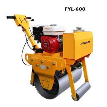 325kg Portable Vibratory Small Compact Roller With Gasoline Engine