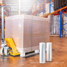 Alps Stretch Film Packing Wrap Pallets Roll Wrapping lldpe Hand Jumbo Stretch Film Roll