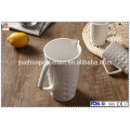 Hot sale ceramic water jug with cup