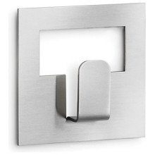 Modern stainless steel single robe & towel hook
