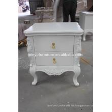 Elegantes weißes Malerei hölzernes Nachtstand XYN313