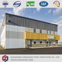 Bâtiment administratif préfabriqué avec stockage de structure en acier