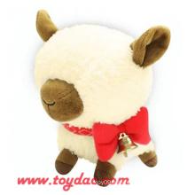 Plush Cartoon Sheep Toy