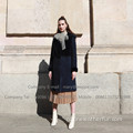 Winter Kopenhagen Mink Fur Overcoat voor Lady