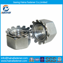 Stock Stainless Steel Kep Nuts/Hex K Lock Nuts/Tooth K Nuts