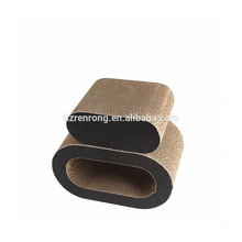 Factory price Cardboard Cat Scratcher Toy Pet Products Indoor Cat Bed CT-4034