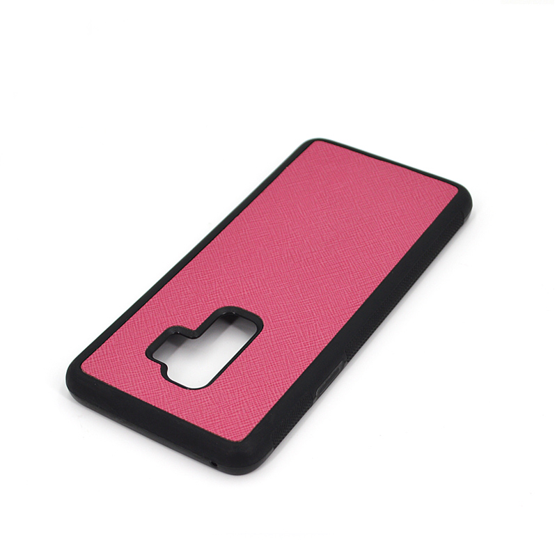 Customized Logo Leather Phone Case for Galaxy S9