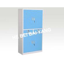 (C-40) Gabinete de instrumentos de plástico com plástico azul