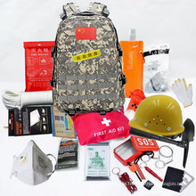 Emergency rescue, civil defense training, combat readiness outdoor mountaineering camping trekking backpack
