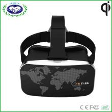 Vatos Vr Park Virtual Reality 3D Gläser für 3D Videospiele Headset für 4-6 Zoll Smartphone (Schwarz)