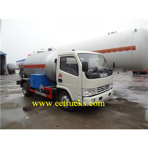 8 CBM 4 MT LPG Delivery Trucks