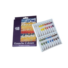 18 cores Gouache Paint sets