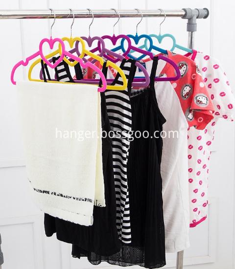 Flocked Suit Coat Hanger