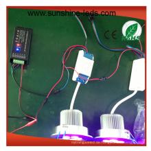 RGB / RGBW / High Power 15W LED Einbauleuchte