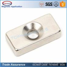 4000 gauss customized neodymium magnets