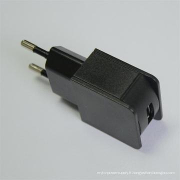 Adaptateur USB 5V500mA 5V1000mA 5V1200mA avec approbation de CB Ce Ce