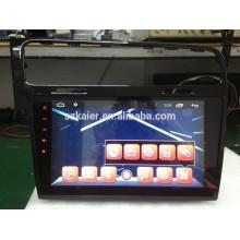 Lecteur DVD de voiture à écran tactile complet pour Glof7 + avec système android + 1024 * 600 + TV