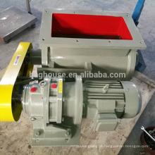 válvula rotativa de aço inoxidável, caixa de válvula, válvula de bloqueio de ar rotativo
