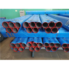Red Painted Bevel End FM Fire Fighting Steel Pipes