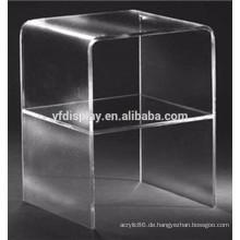 Hoher klarer Acrylhaushalt-Ausstellungsstand für Haus-Versorgungsmaterialien