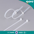 Brida de plástico de nylon obligatoria de la cremallera plástica disponible del precio de fábrica