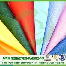 Tissu non tissé d'approvisionnement d'usine de TNT avec la qualité