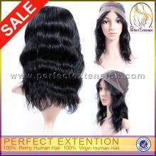 32 Inch Burmese Beyonce Loose Body Wave Burgundy Full Lace Wig