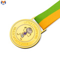 Medalha de adesivo epóxi prêmio de metal