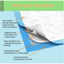 Pet Pad with High Absorbency